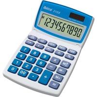 Ibico 210X Bureaurekenmachine Wit/blauw