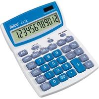 Ibico 212X Bureaurekenmachine Blauw/wit