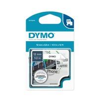Dymo 12mm D1 Flexibele Nylontape printlint 12mm x 3,5m
