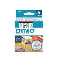 Dymo D1 Standard 6mm x 7m labelprinter-tape printlint