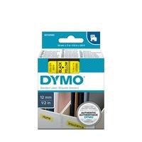 Dymo D1 standaard labels, 12mm x 7m printlint