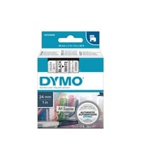 Dymo D1 standaard labels, 24mm x 7m printlint