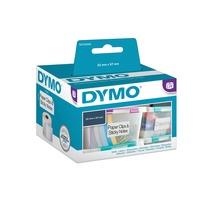 Dymo LW multi-functionele etiketten, 57 mm x 32 mm printlint Wit
