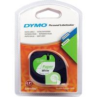 Dymo LetraTag Paper tape 12mm x 4m printlint