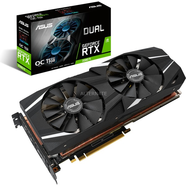 Dual GeForce RTX 2080 Ti OC edition grafische kaart