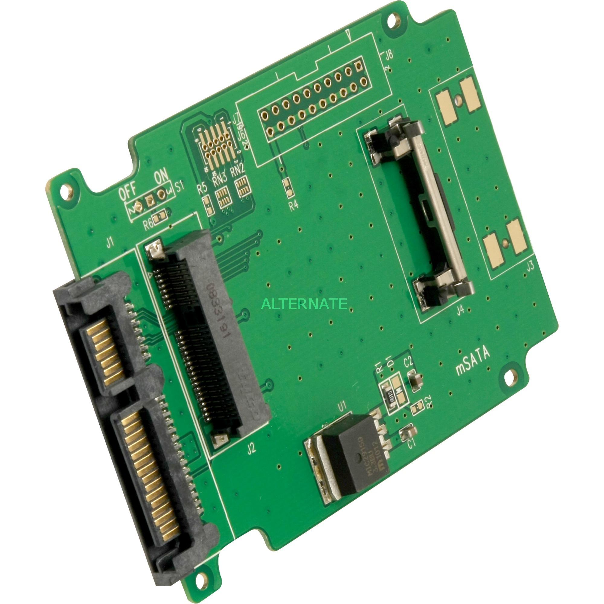 Delock Adapter 22 Pin Sata Msata 61881 Retail Ssd To Card Converter
